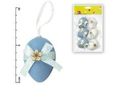 Vajíčka plast 6cm/6ks mix S34019B