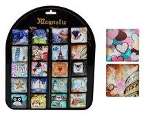Magnet dekorační 4x4cm mix 2