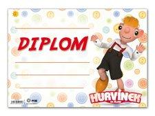 Dětský diplom A4 MFP DIP04-H02 Hurvínek