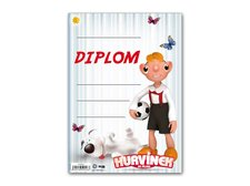 Dětský diplom A5 MFP DIP05-H02 Hurvínek