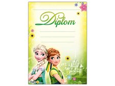 Dětský diplom A4 MFP DIP04-Y11 Disney (Frozen)