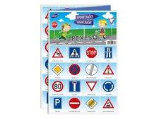 Pexeso MFP 3xA4 Dopravní značky