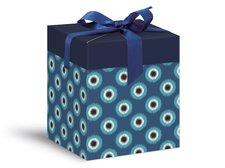 Krabička dárková celoroční 12x12x15cm
