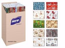 Balící papír vánoční role LUX 2x100x70 MIX