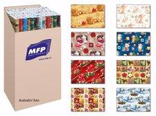 Balící papír vánoční role klasik 2x100x70 MIX