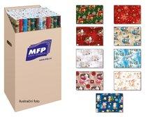 Balící papír vánoční role klasik 5x100x70 MIX