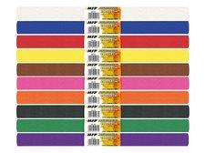 Krepový papír role 50x200cm mix barev 10ks základní