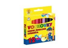 Voskovky MFP 12 barev - trojhranné