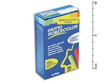 Křídy Giotto Robercolor 10ks mix barev