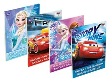 Skicák MFP A4/20 listů Disney