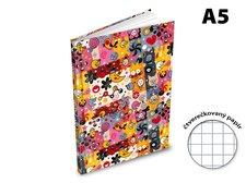 MFP Záznamová kniha A5 100l/čtvereček ZL5105