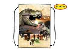 Sáček na přezůvky Dino 31 x 42 cm