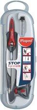 Kružítko MAPED Stop system, 3dílná sada