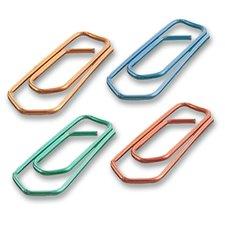Sponky MAPED, 25 mm, barevné, 100 ks