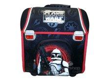 Školní aktovka, batoh, červený - Clone Wars