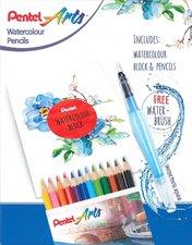 Kreativní set Akvarelových barev Pentel