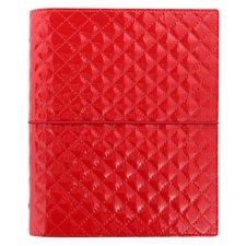 Diář Filofax Domino Luxe A5 červený