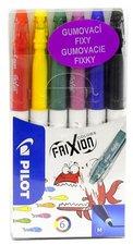 Frixion Colors Gumovací fixy 6 barev