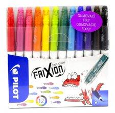 Frixion Colors Gumovací fixy 12 barev