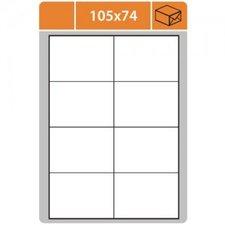 Print etikety A4 105 x 74 mm bílé samolepící 100ks