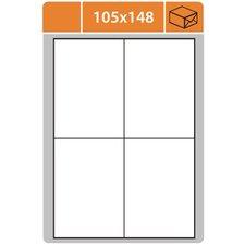 Print etikety 105 x 148 mm, samolepící,100 listů