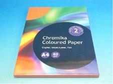 Kancelářský papír A4/100ks cihlově oranžový 80g