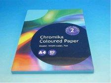Kancelářský papír A4/100ks sytě modrý 80g