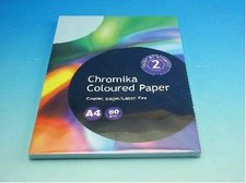 Kancelářský papír A4/100ks ledově modrý 80g