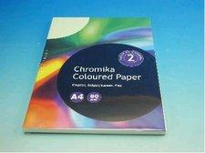 Kancelářský papír A4/100ks pastelově světle zelený 80g