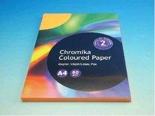 Kancelářský papír A4/100ks reflexní oranžový 80g