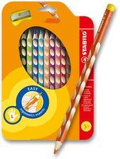Pastelky Stabilo EASYcolors - 12 barev, pro leváky