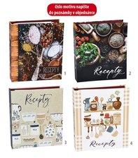 Kniha na recepty karis