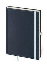 Zápisník BB434-2  Double Blue - linkovaný M