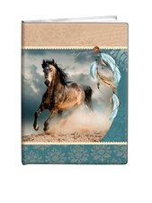 Památník A5 13x18cm čistý /5ks/ Indian horse