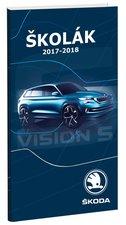 Stil Diář 2018 Školák Škoda Vision