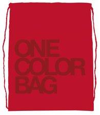 Stil Studentský vak One Colour červený