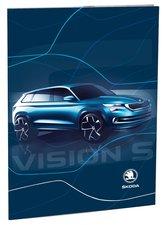 Stil Desky na abecedu Škoda Vision