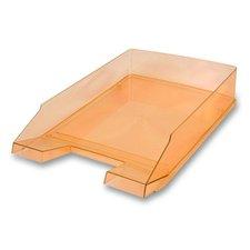Kancelářský odkladač Helit Economy Transparent - oranžový