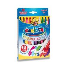 Dětské fixy Carioca Erasable Marker - 9 barev + zmizík