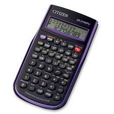 Vědecký kalkulátor Citizen SR-270N - fialový