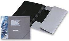 3chlopňové desky s gumou FolderMate StylePlus - stříbrné
