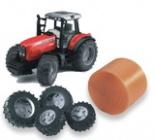 Traktory a farmy