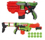 Pušky, pistole, náboje