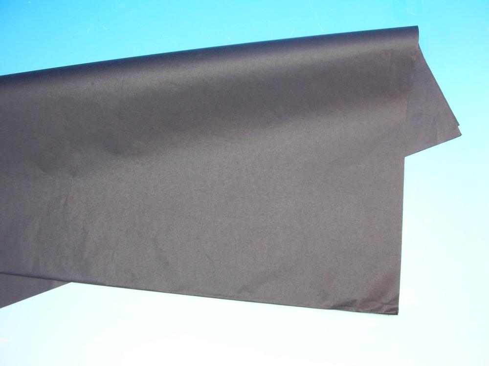 Balící papír černý