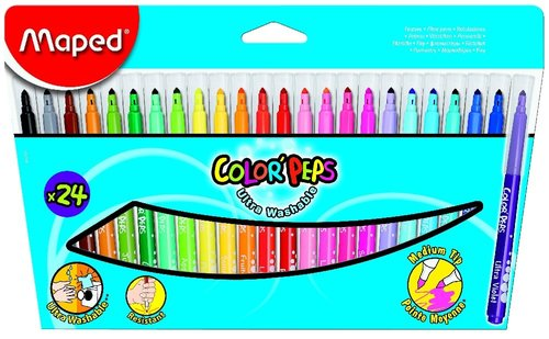 Maped Color´Peps - barevné fixy