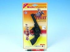Pistole - Kapslovka Jerry 19cm 8 ran na kartě