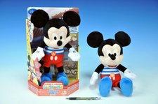 Mickey Mouse Kiss Kiss plyšový 32cm na baterie se zvukem 18m+ v krabičce