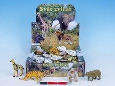 Zvířátka safari plast 8-13cm asst 8 druhů