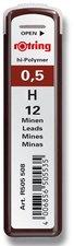 Tuhy Rotring - 0,5 mm H, 12 ks