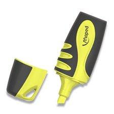 Zvýrazňovač Maped Fluo Peps Pocket Soft - žlutý